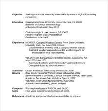 Resume Sample For Volunteer Position