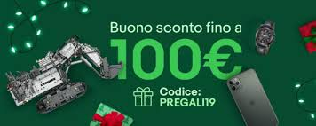 EBay: Save Up To 100 € With The PREGALI19 Coupon - GizChina.it