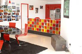 deco interieur cuisine cuisine bar brique photos de design d intérieur et décoration de