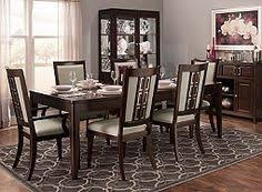 Raymour And Flanigan Lindsay Dresser by Northern Lights 7 Pc Dining Set Dining Sets Raymour And