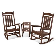 Outdoor POLYWOOD® Presidential 3 Pc. Recycled Plastic Rocker Set ... Parker Converse Custom Rocking Chairs 10 Best 2019 Building A Modern Plywood Chair From One Sheet Modern To Buy Online Beachcrest Home Kandace Reviews Wayfair 18 Various Kinds Of Simple Wooden To Get And Use In Your Kirkton House Accent Aldi Uk Sika Design Nanny Exterior Touchgoods