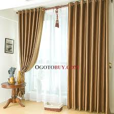 Sound Deadening Curtains Cheap by Modern Gold Polyester Smooth Thermal And Sound Proof Curtains