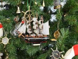 Nautical Christmas Ornament Sets