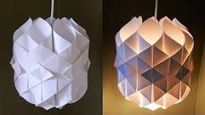Papercraft DIY Paper Lamp Lantern Cathedral Light