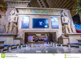 Luxor Casino Front Desk by Las Vegas Luxor Hotel Editorial Photography Image 54514037