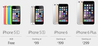 launch of iPhone 6 means you can now an iPhone 5s for $99 on