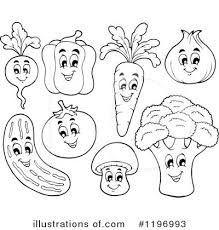 Veggies Clipart Illustration by visekart