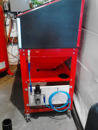 Harbor Freight Blast Cabinet by Rapidair Maxline Air Compressor Line Install Review Ford