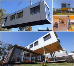 100 Shipping Container Homes Brisbane CrossStacked Cantilevered House