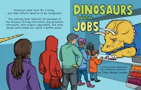 Dinosaurs With Jobs Full Cover