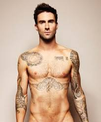 Maroon 5s Frontman Adam Levine Is Practically Decorated With Tattoos