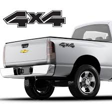 100 Used Pickup Truck Beds For Sale Aliexpresscom Buy 2Pcs4x4 Bed Decals Any Color Fits