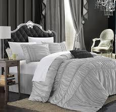 Lush Decor Serena Bedskirt by Amazon Com Chic Home Romantica 5 Piece Comforter Set King