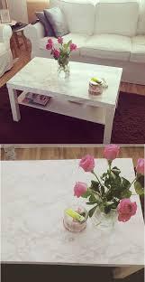 interior diy wohnen marmor tisch mit klebefolie ikea