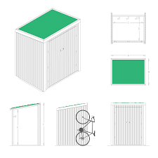100 bike shed plans dalama easy to homemade bike shed free