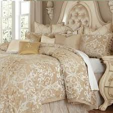 Luxembourg Luxury Bedding Set Michael Amini Bedding Collection by