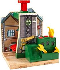 Tidmouth Sheds Wooden Roundhouse by Amazon Com Fisher Price Thomas U0026 Friends Wooden Railway Tidmouth