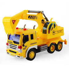 Kids Toy 1/16 Large Construction Truck Excavator Digger Demolition ...