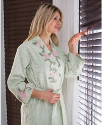 Chenille Bed Jacket by Chenille Robes Stan Herman Bathrobes For Women