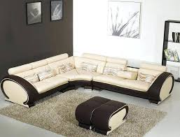 Cindy Crawford Metropolis 3pc Sectional Sofa by Light Grey Leather Sectional White Living Room Cute Fabulous