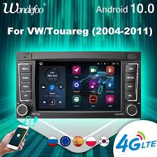 2 din android 10 auto radio carplay für vw volkswagen touareg transporter t5 multivan autoradio stereo multimedia gps naviagtion