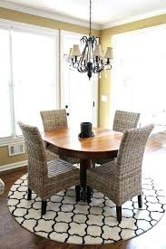 Rugs Under Dining Table For Round Room Tables Best Rug Ideas
