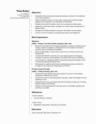 Hospice Nursing Resume Examples Elegant 20 Skill Based Template Of Inspirational