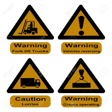 100 Signs For Trucks Hazard At Dock K Lift Cranes And Lorries Stock