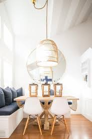 Basket Pendant Light Square Wood Trestle Dining Table With Nz