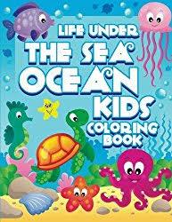 Life Under The Sea Ocean Kids Coloring Book Super Fun Books For