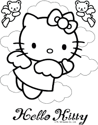 Perfect Hello Kitty Mermaid Coloring Pages 31 About Remodel For Kids Online With