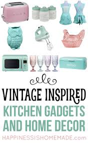Apple Kitchen Decor Ebay by Vintage Inspired Kitchen Decor U0026 Gadgets Happiness Is Homemade