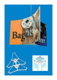 ceiling signage banner hangers grid hanging accessories