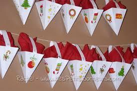 Easy Advent Calendar Free Printable Paper Craft Tutorial