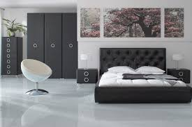 Black Leather Headboard With Crystals by Bedroom Luxurious Home Decorating Bedroom Desing Ideas Showing