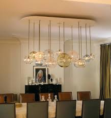 modern glass dining room chandeliers best lighting ideas unique