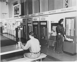 Vending Machines In Factory Cafeteria