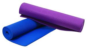 Yoga Mat Pvc Thick Exercise Fitness Physio Pilates Clipart