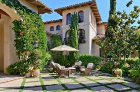100 German Home Plans Spanish Courtyard Mediterranean House Amazing Style With