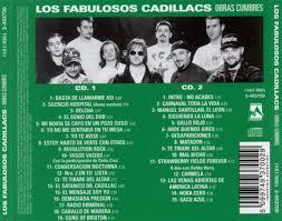 Carátula Trasera de Los Fabulosos Cadillacs Obras Cumbres Portada