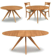 Round Extension Dining Table Furniture Appealing Modern Ideas Remarkable