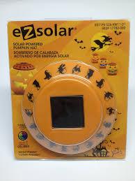 Fiber Optic Pumpkin For Sale by Solar Powered Pumpkin Hat Color Changing Outdoor Figurine