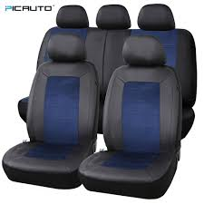 Pic Auto Car Seat Covers Full Set Pu Leather & Suede Fabric Airbag ... Dodge Ram Pickup Seat Covers Unique 1500 Leather Truck Seat Covers Lvo Fh4 Black Eco Leather For Jeep Wrangler Truck Leatherlite Series Custom Fit Fia Inc Auto Upholstery Convertible Tops Mccoys New York Ny By Clazzio Man Tga Katzkin Vs 20pc Faux Gray Black Set Heavy Duty Rubber Diamond Front Cover Masque Luxury Supports Car Microfiber