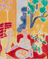 Barnes Collection Online — Henri Matisse: Two Young Girls In A Red ... The Barnes Foundation Matisse In The 9 Meet Your Masterpiece Tour Renoir And Fauves La Alegra De Vir Henri Perneciente Al Collection Online Houses Fenouillet Les Whats On Blue Still Life Nature Morte Bleue 1907 At 1434 Best Henri Matisse Images On Pinterest Matisse Everything We See How Art Works Window Issylesmoulineaux Summer 1913 8 Albert Matisses Beautiful Le Bonheur Vivre