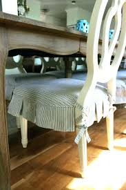 Furnitures Dining Chair Pads Inspirational Room With Cushions Ties