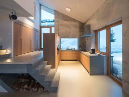 cuisine chalet moderne un minimaliste et éclectique design intérieur pour ce chalet de