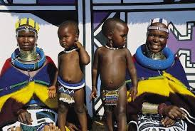 Women Of The Ndebele Tribe South Africa