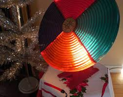 Rotating Color Wheel For Christmas Tree by Vintage Color Wheel Etsy