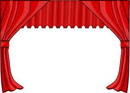 rideaux spectacle théatre ouvert fermé gifs