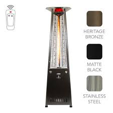 Propane Patio Heat Lamps by Outdoor Patio Heaters Portablefireplace Com